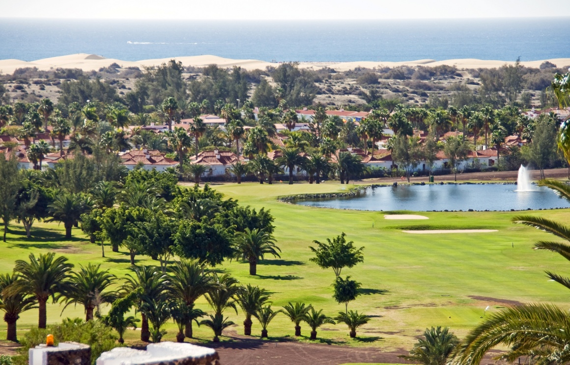 'Town of Maspalomas in Canary Islands' - Gran Canaria